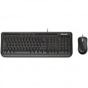 Kit Teclado e Mouse Microsoft Com Fio Desktop 600 USB Preto 3J200006 27670