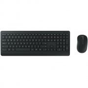 Kit Teclado e Mouse Microsoft Sem Fio Desktop 900 USB Preto PT300005 27691