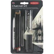 Lápis Carvão Derwent Kit 10 Peças 274976 29228