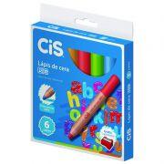 Lápis de Cera Big Jumbo 8mm CiS 6 Cores Sortidas 52.2600 27554