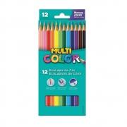 Lápis de Cor 12 Cores Multicolor Super 11.1200N 15684