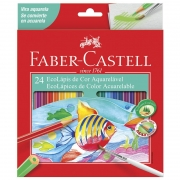 Lápis de Cor 24 Cores Aquerela 120224G Faber-Castell 03202