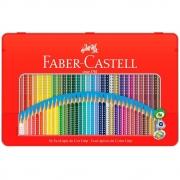 Lápis de Cor Faber-Castell 36 Cores Grip Lata 121036Ltn 25036