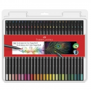 Lápis de Cor Faber-Castell 50 Cores Supersoft 120750Soft 26249