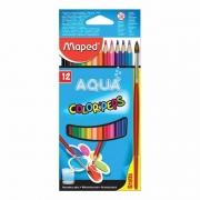 Lápis de Cor Maped 12 Cores Aquarelavel 836011ZV 21089