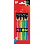 Lápis De Cor Neon 10 Cores 120410N Faber-Castell 32320