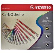 Lápis de Cor Stabilo Carbothello Estojo 24 Cores 54.3000 27555