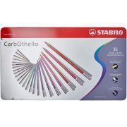 Lápis de Cor Stabilo Carbothello Estojo 36 Cores 54.3100 27556
