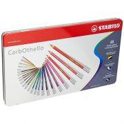 Lápis de Cor Stabilo Carbothello Estojo 48 Cores 54.3200 27557