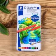 Lápis De Cor Staedtler 12 Cores Full Aquarelável Design Journey 14610G M12 30378