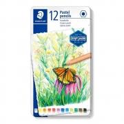 Lápis De Cor Staedtler 12 Cores Pastel Design Journey 146P M12 30377