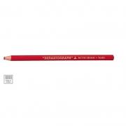 Lápis Dermatográfico Redondo Vermelho Caixa Com 12 Un. 7600 Mitsubishi 02860