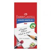 Lápis Grafite Faber-Castell 1205 Max N2 Com Borracha 144 Un 1205M/B 01850