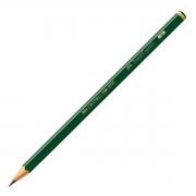 Lápis Grafite Faber-Castell B 9000 12 Un. 9000B 08768