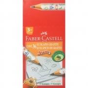 Lápis Grafite Faber-Castell N2 Escolar Jumbo 36 Un. 1205J 24018