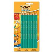 Lápis HB Nº 2 Bic Evolution Hexagonal Com 10 Un 904262 25045