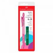 Lapiseira 0.7mm Faber-Castell Bubble Pastel Rosa SM/07Bbrs 29382