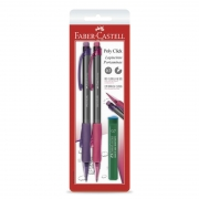 Lapiseira 0.7mm Faber-Castell Poly Click 07Clickm 26256