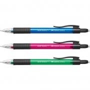 Lápiseira 0.7mm Grip Matic SM07GMP Cores Sortidas Faber-Castell 09911