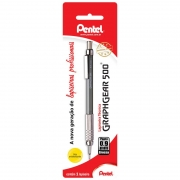 Lapiseira 0.9mm Cinza Graphgear PG529-N Pentel 09855