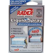 Limpador De Quadro Branco Radex Spray 60Ml Com Flanela 0174 07677