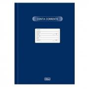 Livro Conta Corrente Grande com 50 Fls Tilibra 120197 01687