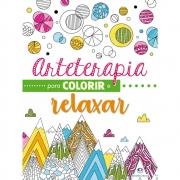 Livro Para Colorir Arteterapia Colorir e Relaxar 0953 29183