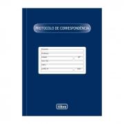Livro Protocolo Correspondência com 52 Fls 126861 Tilibra 06391