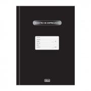 Livro Registro de Empregados com 100 Fls 121274 Tilibra 04627
