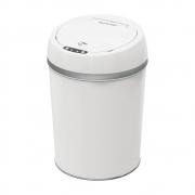 Lixeira Automática Com Sensor De Aproximação e Touch Smart Branca 9L EI079 Multilaser 30638