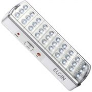 Luminária de Emergência 30 Leds 2W Com Botão Teste 48Lem30L0000 24482