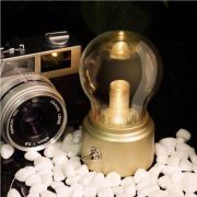 Luminaria LED de Mesa UP4YOU Lampada Retro Ouro LU18015UP 28165