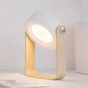 Luminaria LED de Mesa UP4YOU Wood Retro Lu18007Up Br 28161