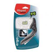 Lupa Maped Ergologic Aumento 2X Com Lampada LED 395211 23790