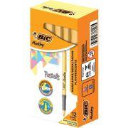 Marcador de Texto BIC Marking Tons Pastel Amarelo 12 Un. 970925 28521
