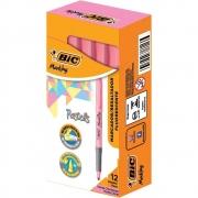 Marcador de Texto BIC Marking Tons Pastel Rosa 12 Un. 970916 28518