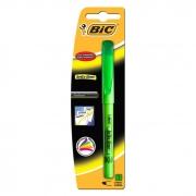 Marcador de Texto Brite Liner Verde Bic 09280