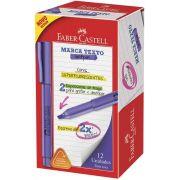 Marcador de Texto Faber-Castell Grifpen Roxo 12 Un. MT/RXZF 28025