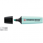 Marcador de Texto Stabilo Boss Azul Pastel 52.7600 25915