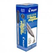 Marcador Retro Projetor 2.0mm Preto Caixa Com 12 Un. Pilot 14966