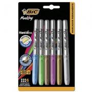 Marcador Permanente Color Intensity 6 Unidades 971035 Bic 32273