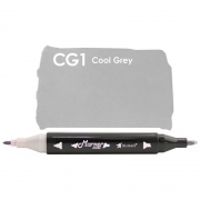 Marcador Permanente Maker Dual Bismark Cool Grey 1 PK0206D Cg1 27076