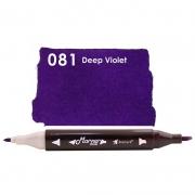 Marcador Permanente Maker Dual Bismark Deep Violet PK0206D 081 27063