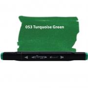 Marcador Permanente Maker Dual Bismark Turquesa Green PK0206D 053 27062
