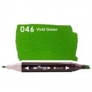 Marcador Permanente Maker Dual Bismark Vivid Green PK0206D 046 27059