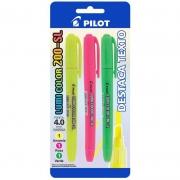 Marcador de Texto Lumi Color 3 Cores 200-SL Pilot 25697