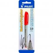 Marcador Retro Projetor 2.0mm Vermelho Pilot 01752