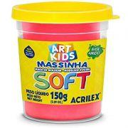 Massa de Modelar Acrilex Base Amido Soft Pote 150G Vermelho 103 19865