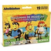 Massa de Modelar Acrilex com 12 Rolos 07012 03939
