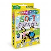 Massa de Modelar Acrilex Soft Glitter 90g 07360 07545